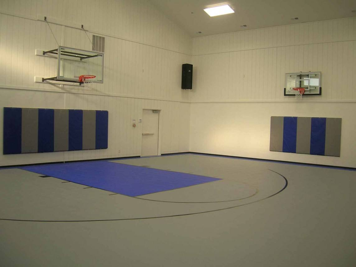 Flex court indoor courts neave group for Custom indoor basketball court