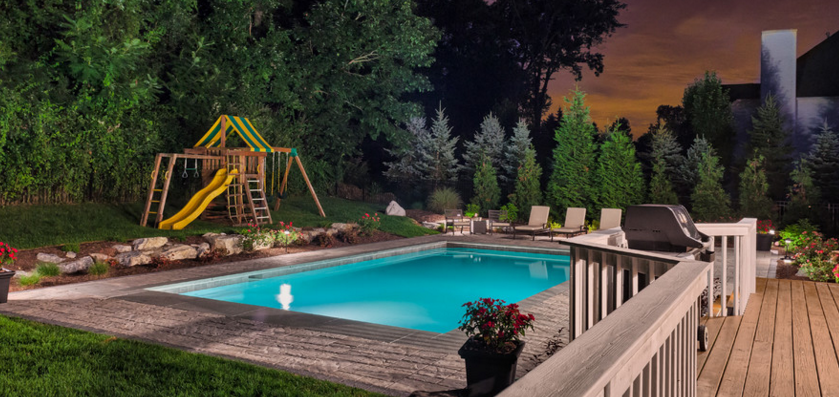 How to create privacy around pools with privacy for Privacy screen for pool