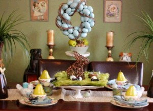 Residential Easter Decorating Services by Neave Décor
