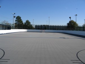 Roller Hockey Rink Neave Sports - Backyard roller hockey rink