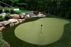 backyard putting green cost installing a putting green neave