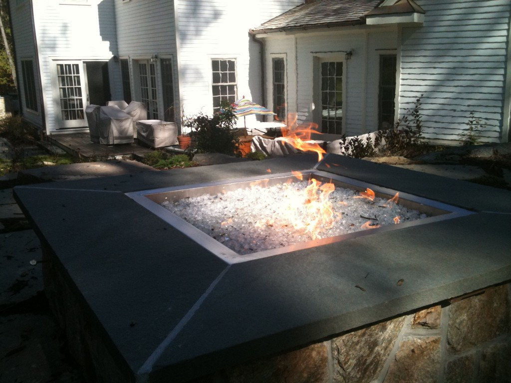 New York fire pit