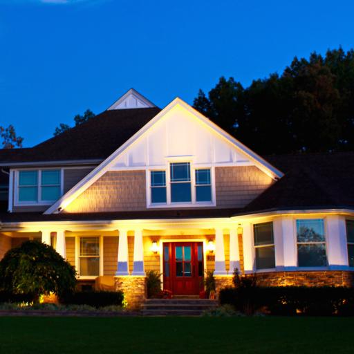 Low-voltage LED landscape lighting uses a fraction of electricity.