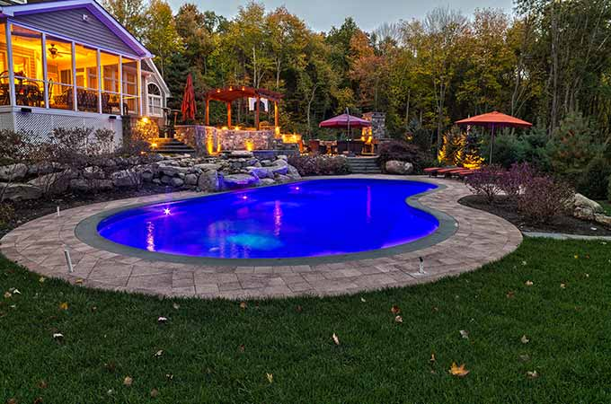 Custom Swimming Pool Builder And Designer Neave Group Ny