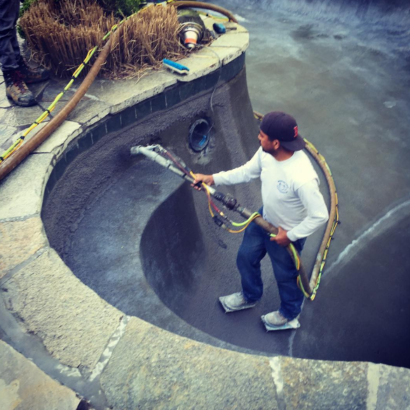how to tell if your gunite pool needs resurfacing
