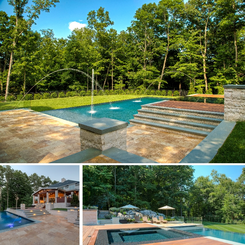 Briarcliff Manor Infinity Edge Pool