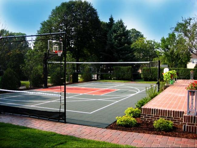 Backyard Volleyball Courts Neave Group Ny