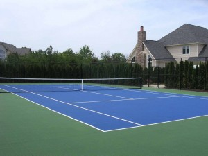 how to build a tennis court in your backyard
